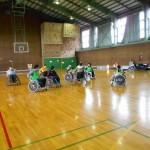 車椅子ツインバスケットボールの高岡練習に参加者がいっぱい!?