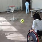富山医療福祉専門学校の学園祭でツインバスケの体験コーナーを!