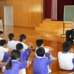 鷹栖小学校で車椅子ツインバスケットボールについて喋ってきました!