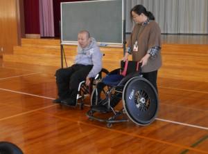 バスケ用車椅子説明①