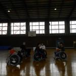 2014年最後の車椅子ツインバスケットボール高岡練習の人数は?
