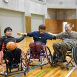 入善総合体育館のほうへ練習に行ってきました!