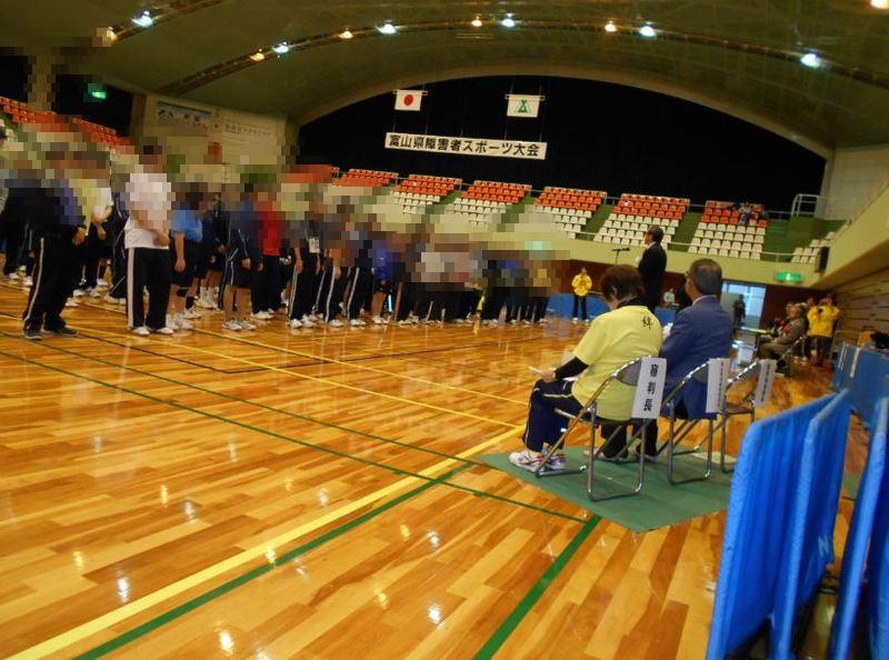 卓球競技会開会式