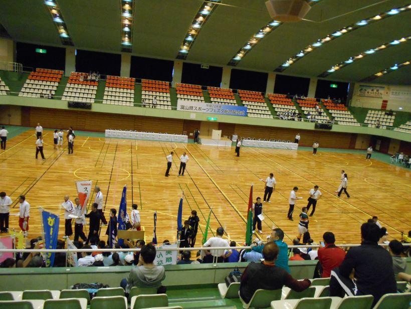 富山県スポーツフェスタ総合開会式前