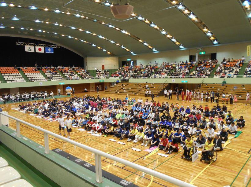 富山県スポーツフェスタ総合開会式