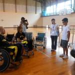 車椅子ツインバスケの普及の為に黒部市まで行ってきました!