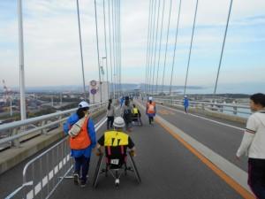 新湊大橋で幾多の方向①