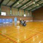 車椅子ツインバスケの練習に従姉弟が来てくれました♪