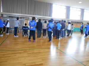 初球障害者スポーツ指導員の講習①