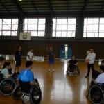 台風18号が接近中に高岡ふれあい福祉センターで練習がありました♪
