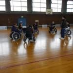 2018年の練習が高岡ふれあい福祉センター敷地内体育館で開始!
